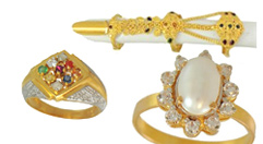 22K Gold Rings (Indian Designs)