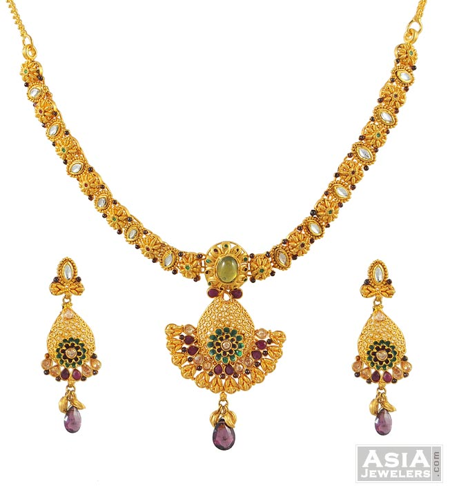 Necklaces for Women Buy Indian Necklace Jewelry Set