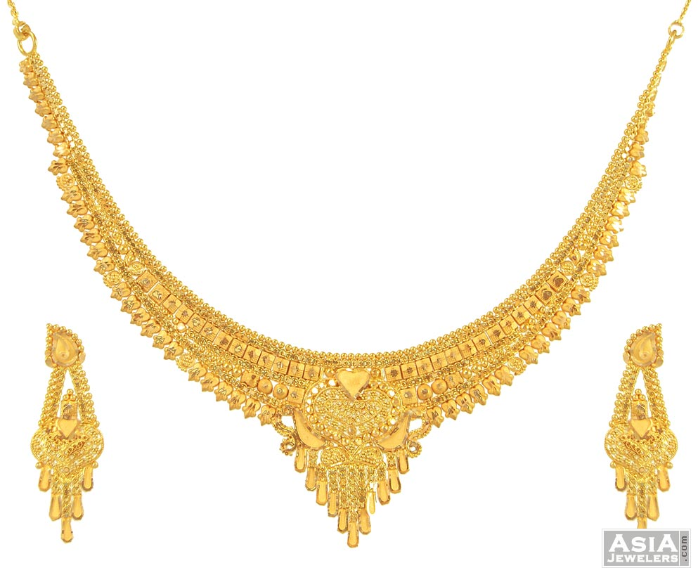 Indian Gold Chain Necklace