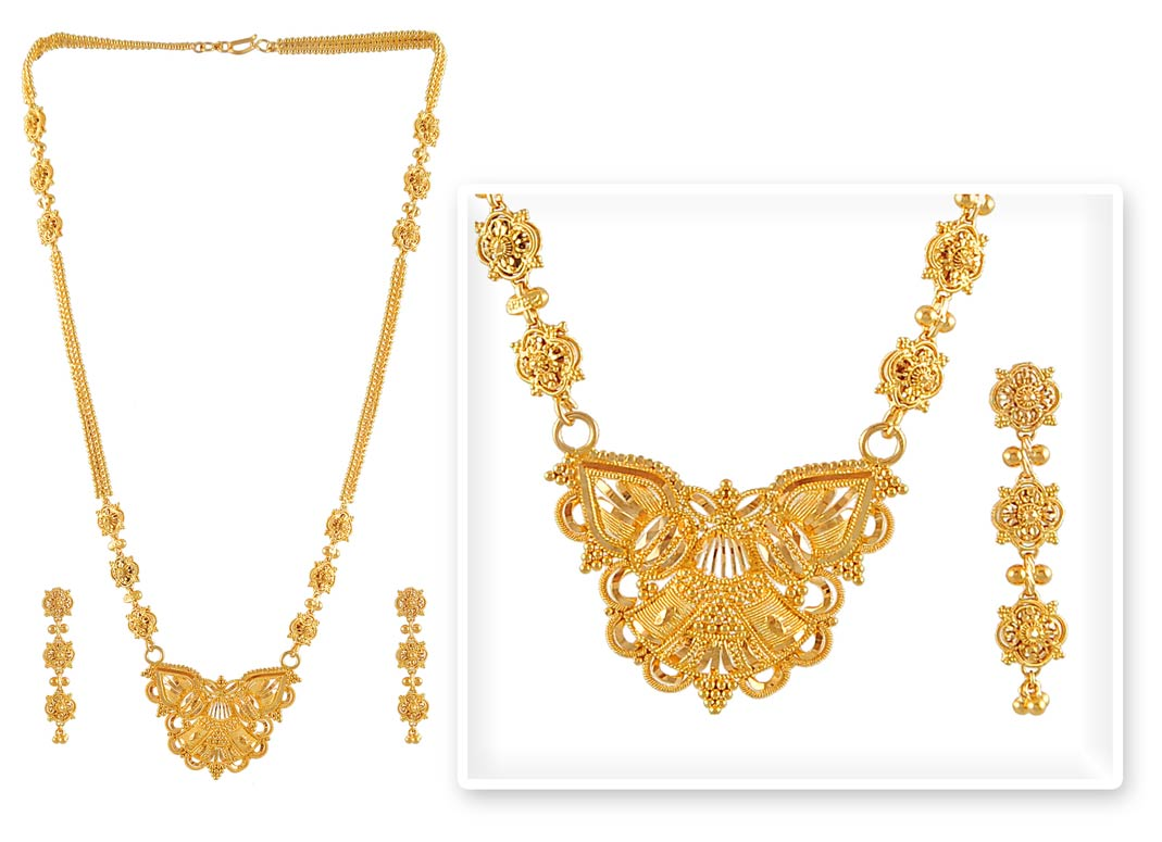 Gold Necklace Set Png. Gold Jewellery Designs With Price In India ...