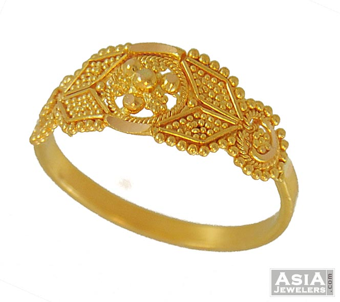 indian gold ring