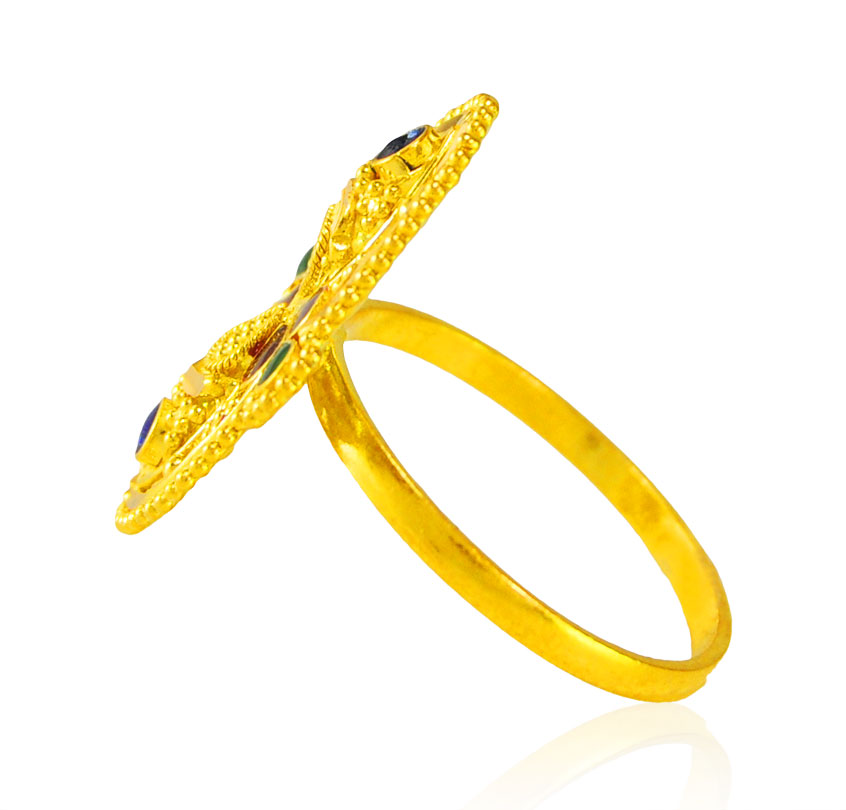 [ 22K Gold Rings > 22kt Gold Ring for Ladies  ]