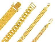 Gold Bracelets 22k Gold Bracelets Collection In Different Designs