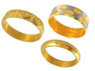 Gold Rings >  Gold Wedding Bands >