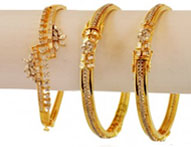 Diamond Jewelry >  Diamond Bangles >