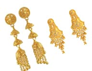 Gold Earrings >  22K Gold Earrings >