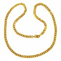 22K Gold Mens Chain 24 Inch - Click here to buy online - 2,265 only..