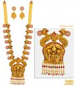 Click here to View - 22 kt Gold Temple Necklace Set