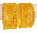 Click here to View - 22 Karat Gold Kadas(2pcs)