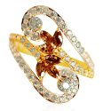 22k Gold Colored Stone Ring - Click here to buy online - 264 only..