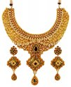 Antique 22K Gold Bridal Set - Click here to buy online - 9,829 only..