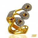 Click here to View - Exclusive Peacock Gold Ring 22k