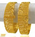 Click here to View - 22 Kt Gold Designer Filigree Kada