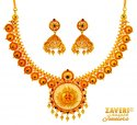 Click here to View - 22 Kt Antique Temple Necklace