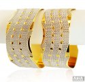 Click here to View - 22k Two Tone Lazer Kada