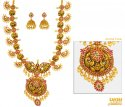 Click here to View - 22 kt Traditional Necklace Set