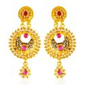 Click here to View - 22 Karat Gold Antique Earrings