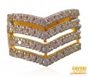 Click here to View - 22K yellow Gold CZ Ring