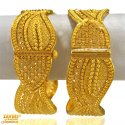 22 Kt Gold Kadas (1PC)  - Click here to buy online - 2,057 only..