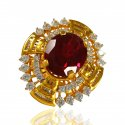 22 Karat Gold Stone Ring - Click here to buy online - 943 only..