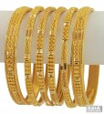 Click here to View - 22K Gold Bangles Set