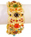 22k Gold Precious stones Kada (1pc) - Click here to buy online - 3,291 only..