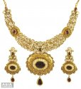 Click here to View - 22K Exclusive Bridal Antique Set