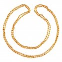 22 Karat Gold Tulsi Mala - Click here to buy online - 880 only..
