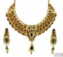 Click here to View - 22k Antique Designer Kundan Set
