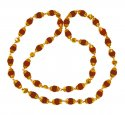 Click here to View - 22 Karat Gold Rudraksh Mala