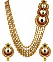 Click here to View - 22k Gold Designer Antique Set