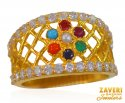 Click here to View - 22k Gold Cubic Zircon Band