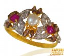 Click here to View - 22 kt Gold stone ring