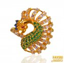 22 Karat Gold Stone Ring - Click here to buy online - 620 only..