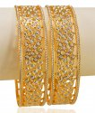 Click here to View - 22kt Gold Two Tone Bangles(2pcs)