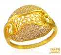Click here to View - 22K Gold Designer Ring