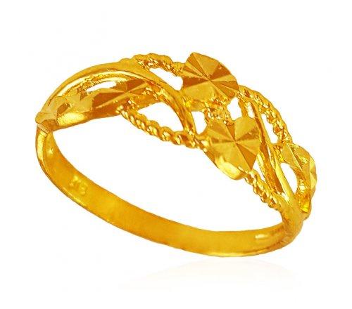 22 Karat Gold Ring For Las
