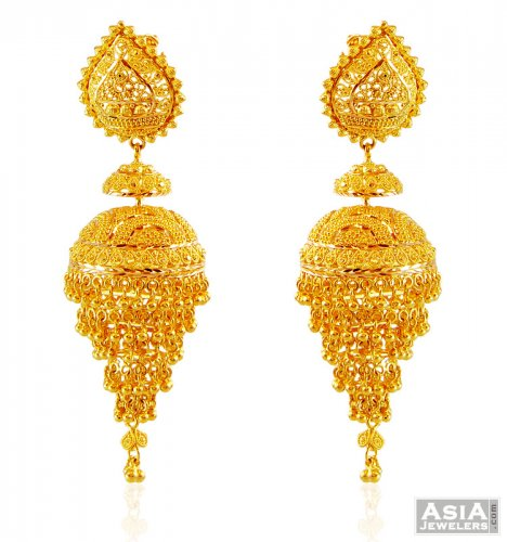 earrings indian ethnic dp jewelry amazon temple gold traditional online com south tikka