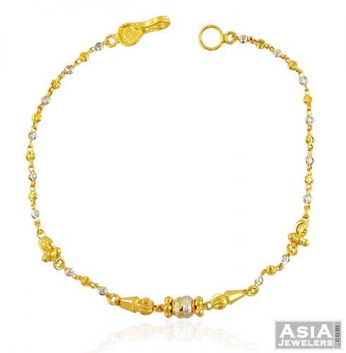 22k Ball Chain Bracelet