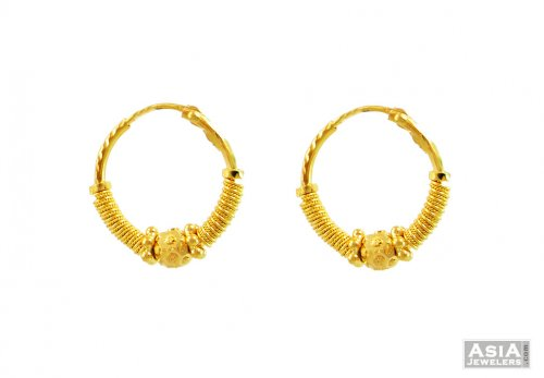 indian young goldpink gold earrings kirat jewelry in red product lyst normal