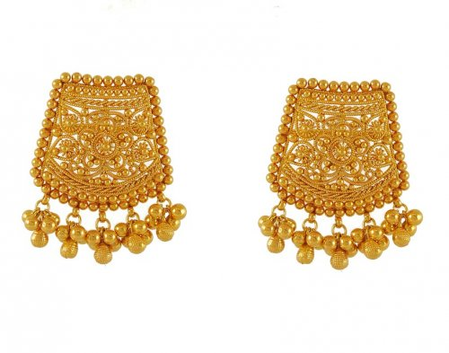 indian earrings gold sandi library virtual of pointe collections