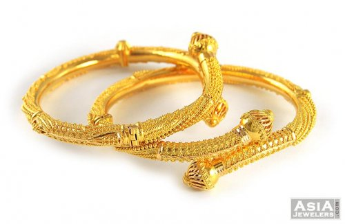 the gallery for gt gold bangles designs with weight and price