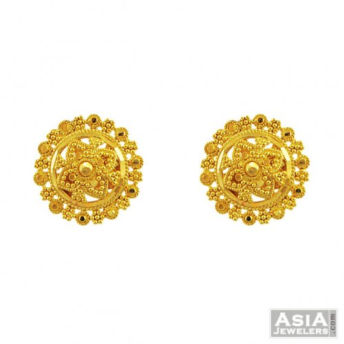 3947fa63f 22k Gold Indian Tops - AjEr55614 - 22K gold designer tops like small ...