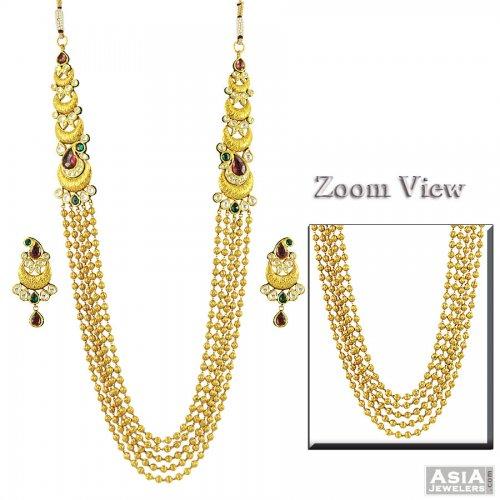 Long kundan jewellery