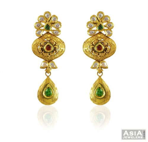 nepal collection latest thumbnail jhumkas beautiful from earrings gold