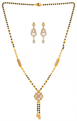 22K Indian Mangalsutra Set