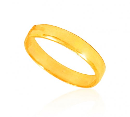 22 KT Gold Plain Band