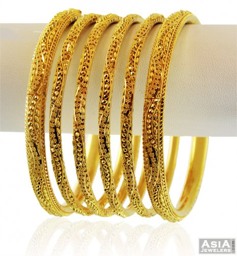 gold nail ring index bangles set bracelet thick juste bangle