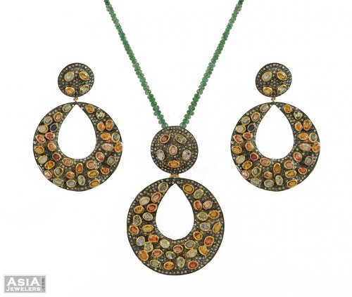 Exclusive Nizam Pendant Set