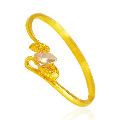22k gold two tone ring ajri62278 us 133 22k gold